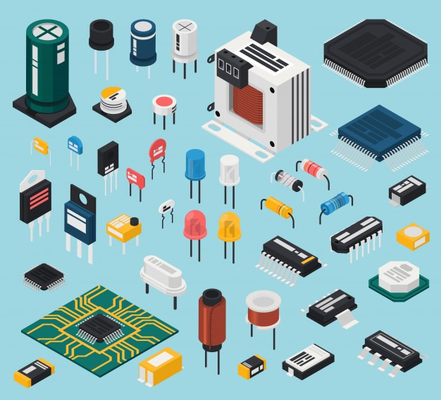 electronics components material