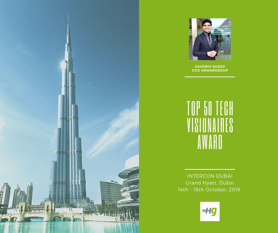 TOP 50 Tech visionaires award